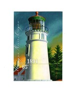 POSTCARD-UMPQUA RIVER LIGHTHOUSE-FIRST DAY  ISSUE-PACIFIC LIGHTHOUSE SER... - $65,93 MXN
