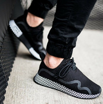 ADIDAS ORIGINALS DEERUPT S BLACK/WHITE SIZE 10 NEW FAST SHIPPING (BD7879)  image 2