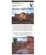 DISCOVER CAPITOL REEF /UTAH /ILLUSTRATED NATIONAL PARK SERVICE SINGULAR ... - $4.95