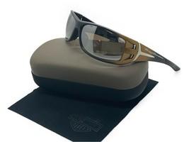 HARLEY DAVIDSON Black Gold Fade Sunglasses/ Silver Mirror Lens HDS615 BK... - $33.92