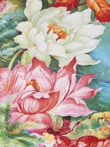 """DRESDEN CHINA LARGE PLATE ROSES GOLD TRIM Large 13"""" Plate by Dresden image 2"""