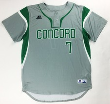 Russell Athletic Concord Sublimated Two Button Baseball Jersey Men's Lar... - $15.91