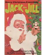 Jack and Jill December 1971 Vintage Christmas Magazine Santa Claus Cover - $10.88
