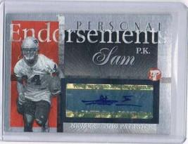 2004 Topps Pristine Personal Endorsement Autographs #PEPKS P.K. Sam Auto  - $14.80