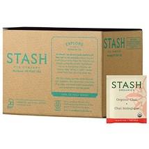 Stash Tea Organic Black and Green Tea Bags in Foil Chai Spice 100 Count ... - $23.44