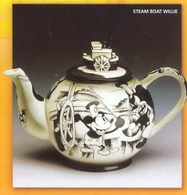 Disney Steamboat Willie Mickey Teapot rare - $399.99