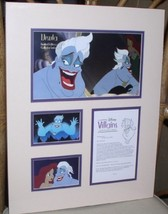 Disney -  Urusula  - Villain - Little Mermaid - Castmember Lithograph - $97.24