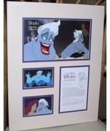 Disney -  Urusula  - Villain - Little Mermaid - Castmember Lithograph - $97.24