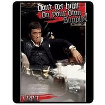 "NEW Al Pacino Scarface Fleece Blanket 50""X60"" (Medium)  - $45.00"
