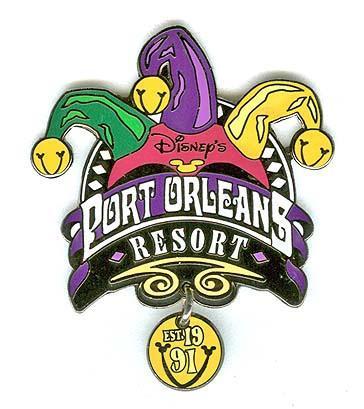 Disney WDW Port Orleans Dangle Resort  pin/pins