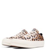 Converse Womens CTAS Lift Ox Canvas 564676C Egret/Black Multi Sizes NWB - $49.98