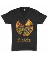 Life Is Full of Important Choices V-Neck T-shirt Funny Pepperoni Pizza Tee - $16.92 - $22.99