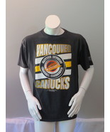 Vancouver Canucks Shirt (VTG) - Zooming Puck Graphic by Starter - Men's ... - $45.00