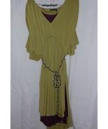 Hayden Harnett Thea Dress Citron New Medium - $85.00