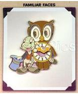 Disneyana Convention Jiminy Cricket with Owl Pin/PINS Make Offer - $33.52