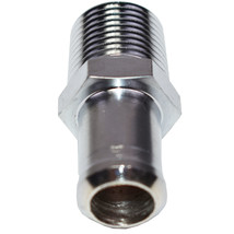"""A-Team Performance Water Pump and Intake Manifold Fitting 1/2"""" Npt to 5/8"""" Hose  image 4"""