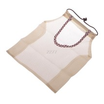 Storage Bag Reusable Mesh Hanging Breathable Kitchen Organizer Storage P... - $134,57 MXN