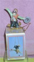 Emmett Kelly Jr. Trapeze artist circus clown ornament - $18.29
