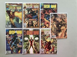 Lot of 7 Iron Man (1998 3rd Series) #1 9 11 12 38 39 51 VF Very Fine - $19.80