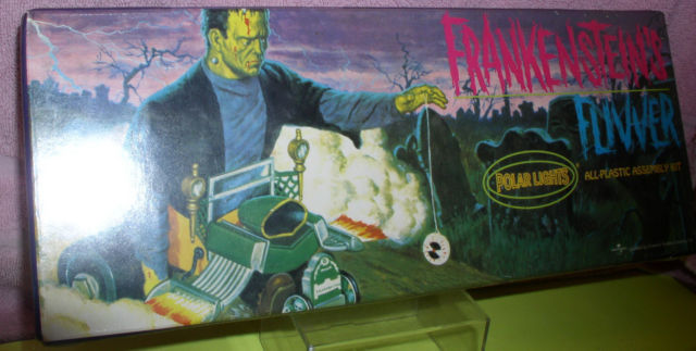 Frankenstein Fuwer car Model Kit Polar Lights Universal Studios Monsters