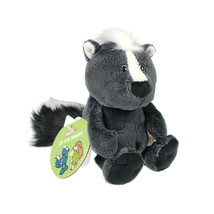 NICI Skunk Stuffed Animal Plush Toy Dangling 6 inches - $17.00
