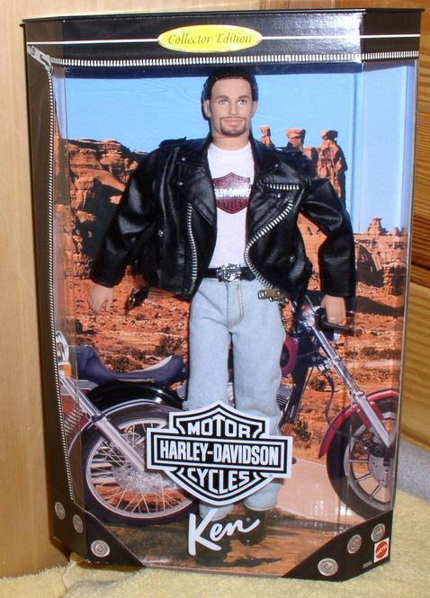Harley Davidson Ken Barbie #1 Doll MINT in original Mattel box