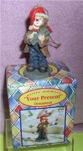 Little Emmett Kelly circus clown Little Emmett  Your Present ornament - $16.97