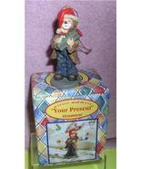 Little Emmett Kelly circus clown Little Emmett  Your Present ornament - $16.97