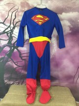 Warner Brothers Superman size Medium 8-10 Superman One piece Halloween C... - $10.63