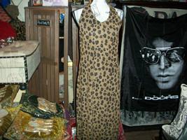 JESSICA HOWARD Sexy Leopard Halter Dress Size 14 - $17.82
