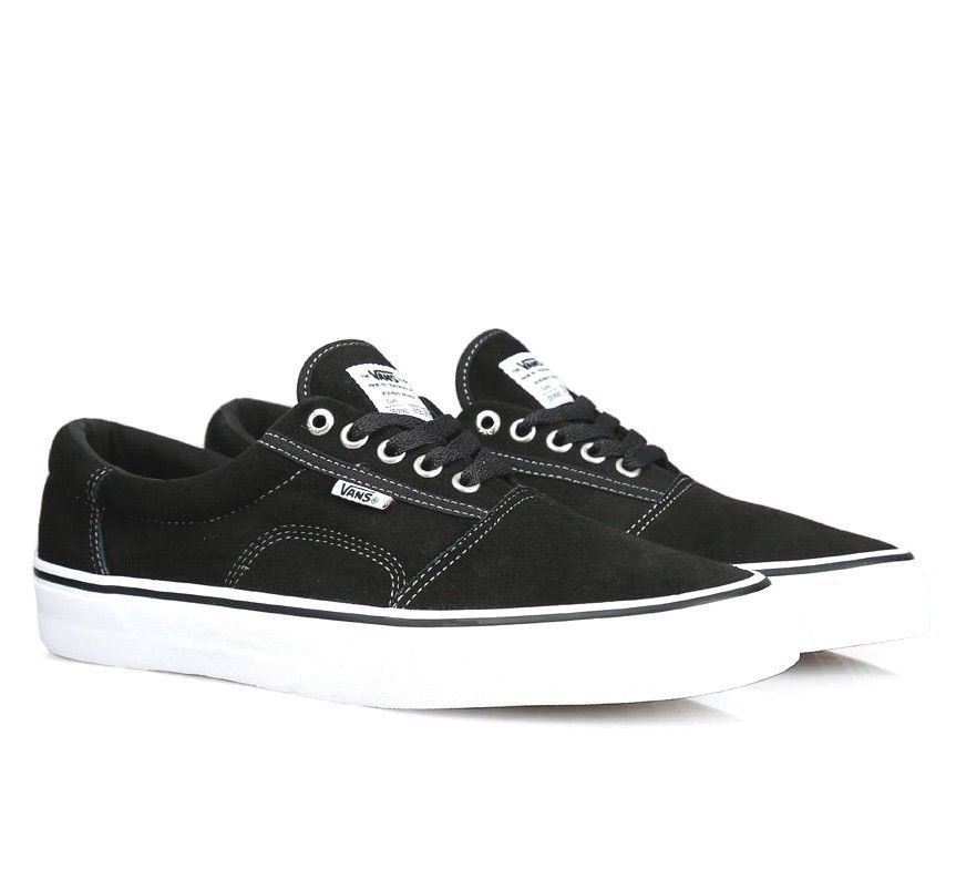 Primary image for Vans Rowley Solos Black/White/Pewter UltraCush Skate Shoes Mens Size 7