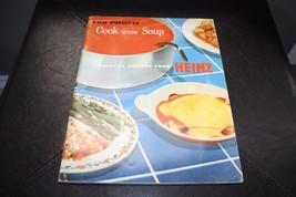 Vintage 1957 Heinz Soup Advertising Marketing R... - $37.08