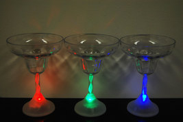 8 Mode Color Changing LED Margarita Glass - $7.95