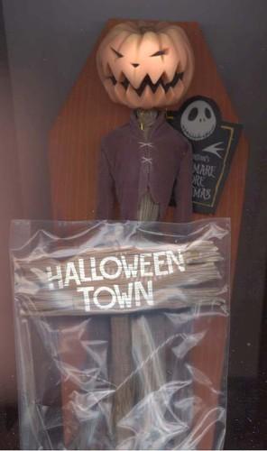 Nightmare Before Christmas Pumpking Jack  Halloween Town orange coffin  Doll