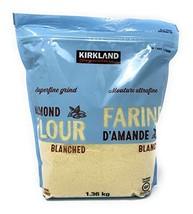 Kirkland Signature Almond Flour Blanched California Superfine, 3 Pounds - $71.27