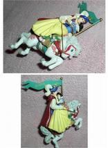 Snow White & the 7 Dwarfs -  & Prince Carousel Figurine Ornament - $46.80
