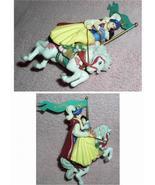 Snow White & the 7 Dwarfs -  & Prince Carousel Figurine Ornament - $41.16