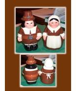 Thanksgiving Salt & Pepper Pilgrim - $27.76