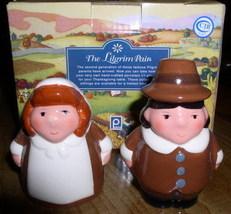 Thanksgiving Salt & Pepper Pilgrim Children - $21.22