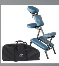 NRG Grasshopper Portable Massage Chair with Carrying case - Agate Blue -... - $100.00