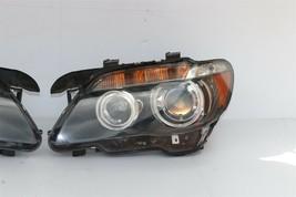 06-08 BMW E65 E66 750i 760i HID AFS Active Headlight Lamps Set L&R image 2