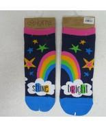 Karma Ankle Socks One Size Shine Bright Rainbow  - $9.89