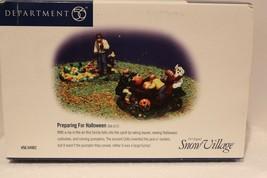 Dept 56 Snow Village Halloween - Preparing for Halloween, Set of 2 - #54... - $19.95