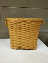 Longaberger Basket 2000 Small Oval Wastebasket Waste Paper (dd) (a31) - $93.50