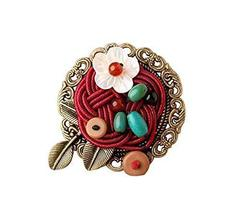 Designer Clothing Accessories Overcoat Cappa Brooch Pin