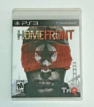 HOMEFRONT for PS3 Playstation 3, rated M. Complete with key - $9.75