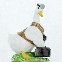 Vintage EIC 1986 Porcelain Occupational Goose Figurine Country Doctor
