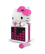 Hello Kitty CD+G Karaoke System with LED Light Show and P3,MP4+G Playback - $125.78