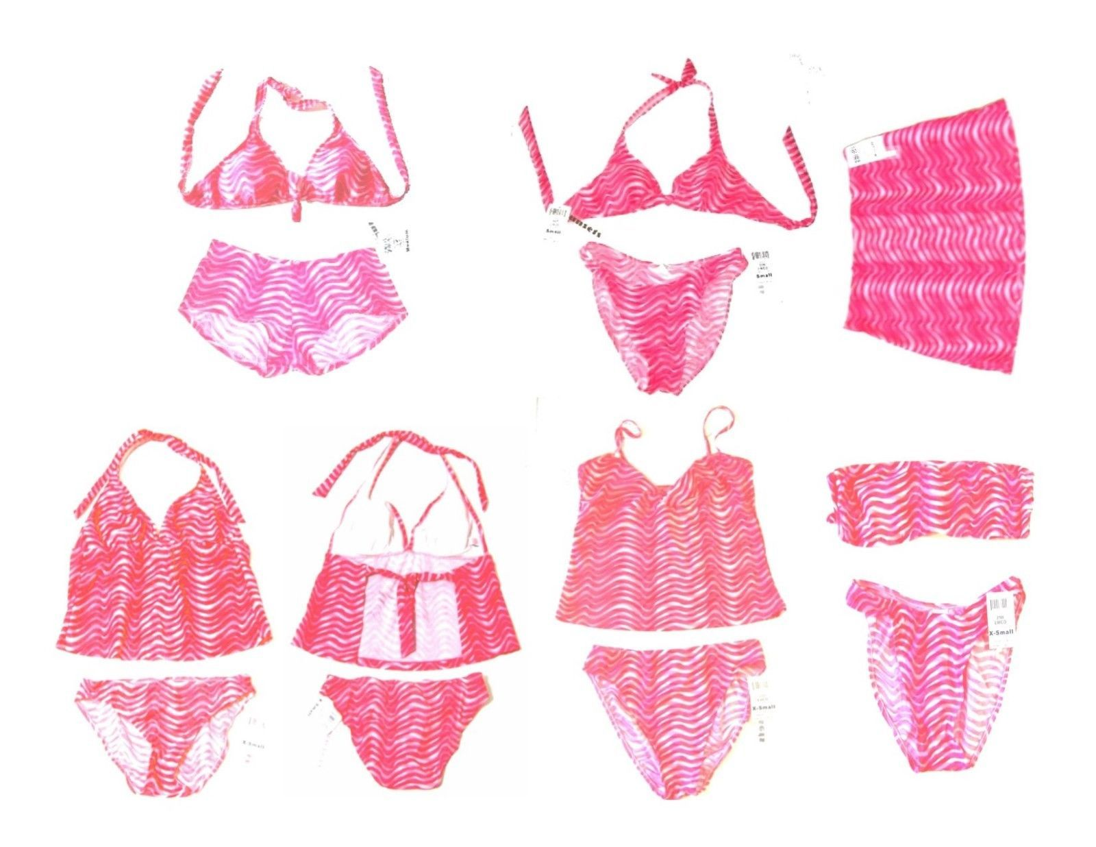 Sunsets Liquid Wave Bikini and Tankini Swimsuits & Separates NWT$50+ - $27.07 - $40.61