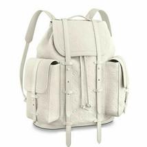 LOUIS VUITTON Virgil Abloh Backback Bag Christopher GM M53286 White Mono... - $7,524.75